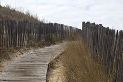 Promenade zum Strand Lizenzfreies Stockbild