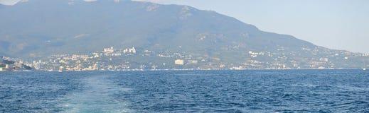 Promenaden av Yalta Arkivfoton