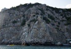 Promenaden av Yalta Fotografering för Bildbyråer