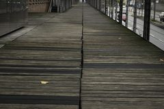 Promenaden-Hafen Hamburg Lizenzfreie Stockfotos