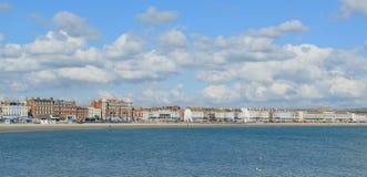 Promenaden i Weymouth Fotografering för Bildbyråer
