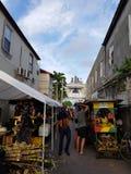 Promenades par les rues de la Jamaïque photo libre de droits