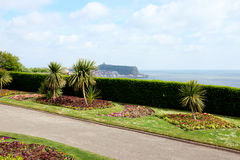 Promenadträdgårdar, Scarborough, Yorkshire Royaltyfri Bild