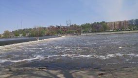 Promenera floden Royaltyfri Foto