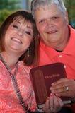 Promesa de la biblia Foto de archivo libre de regalías