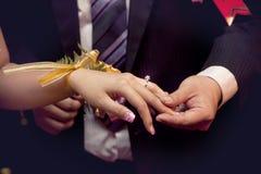 Promessa do amor fotografia de stock royalty free