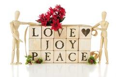 Promesse de Noël Photos libres de droits