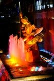 Prometheus雕象在洛克菲勒中心, NYC 免版税库存照片
