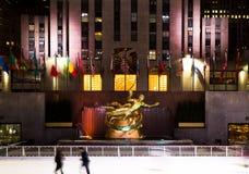 Prometheus bij Rockefeller Center, Manhattan royalty-vrije stock foto
