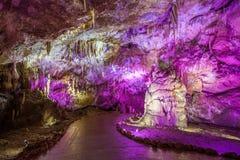 Prometheus Cave, Kutaisi stock photography