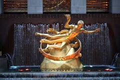 PROMETHEUS em New York Fotos de Stock