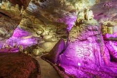Prometheus-grotta, Kutaisi royaltyfria foton