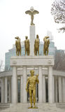 Prometheus , Monument of heroes in Skopje Macedonia Stock Photography