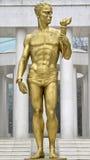 PROMETHEUS, Monument von Helden in Skopje Mazedonien lizenzfreies stockfoto