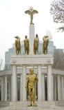 PROMETHEUS, Monument von Helden in Skopje Mazedonien stockfotografie