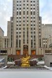 Prometheus - Rockefeller Center Stock Photography