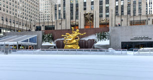 Prometheus - Rockefeller Center Royalty Free Stock Image
