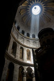 Promień światło wśrodku świątyni Zdjęcie Royalty Free