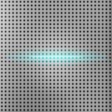 Promień światło z kruszcowym siatki tłem Obraz Stock