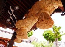 Promień przy Japońską świątynią Zdjęcie Royalty Free