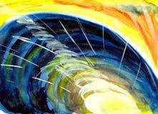 promień energia przy portalem Obrazy Royalty Free