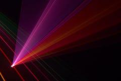 promieni koloru laser Fotografia Royalty Free