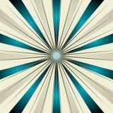promienia abstrakcjonistyczny słońce Zdjęcia Royalty Free