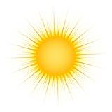 promienia słońce Zdjęcia Stock