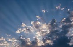 promienia słońce Obraz Royalty Free