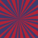 Promienia tło Usa kolory z grunge - wektor obraz royalty free