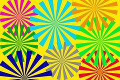 Promienia tło Obrazy Stock