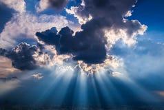 Promienie światło Zdjęcie Royalty Free