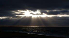 Promienie ranku światło Zdjęcia Royalty Free