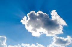 Promienie słońce Zdjęcie Stock