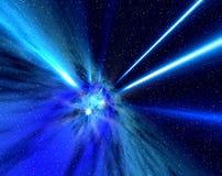 promienie wszechświata royalty ilustracja