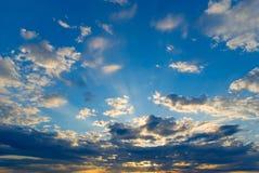 promienieje słonecznego Zdjęcia Royalty Free