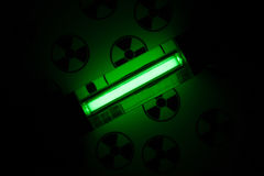 Promieniotwórcza łuna Obraz Royalty Free
