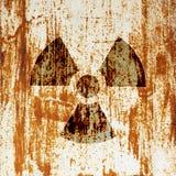 promieniotwórczości symbolu ostrzeżenie Zdjęcie Royalty Free