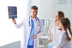 Promieniowanie rentgenowskie dziecko Zdjęcie Stock