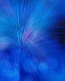 Promieniowy abstrakcjonistyczny błękitny tło Obrazy Royalty Free
