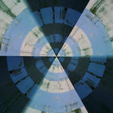 Promieniowy abstrakta wzór Zdjęcie Stock