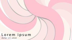 Promieniowy pluskoczący curvy tło Delikatna mauve wir powierzchnia z przestrzenią dla teksta Apetyczny dżem soczysty owoc róży ko royalty ilustracja