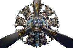 Promieniowy silnik Zdjęcie Stock