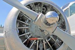 Promieniowy silnik Fotografia Royalty Free