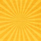 Promieniowych komiczek wektorowy Retro tło Obraz Royalty Free