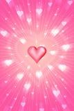 promienna miłości. Zdjęcie Royalty Free