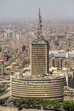 Prominent buildings of downtown Cairo Stock Image