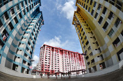 Prominent landmark HDB of Rochor Centre Royalty Free Stock Image