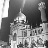 Sultan Mosque at Kampong Glam Singapore. A prominent mosque located in Kampong Glam, Masjid Sultan also known as Sultan Mosque is one of the impressive religious stock photography