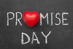 Promise day chb Stock Image